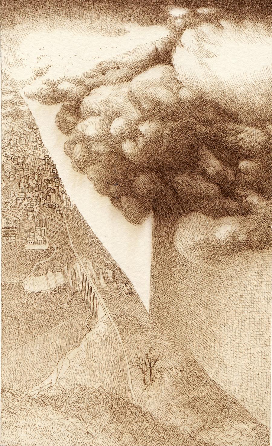 Ettore Tripodi - l'orizzonte bianco-bassa